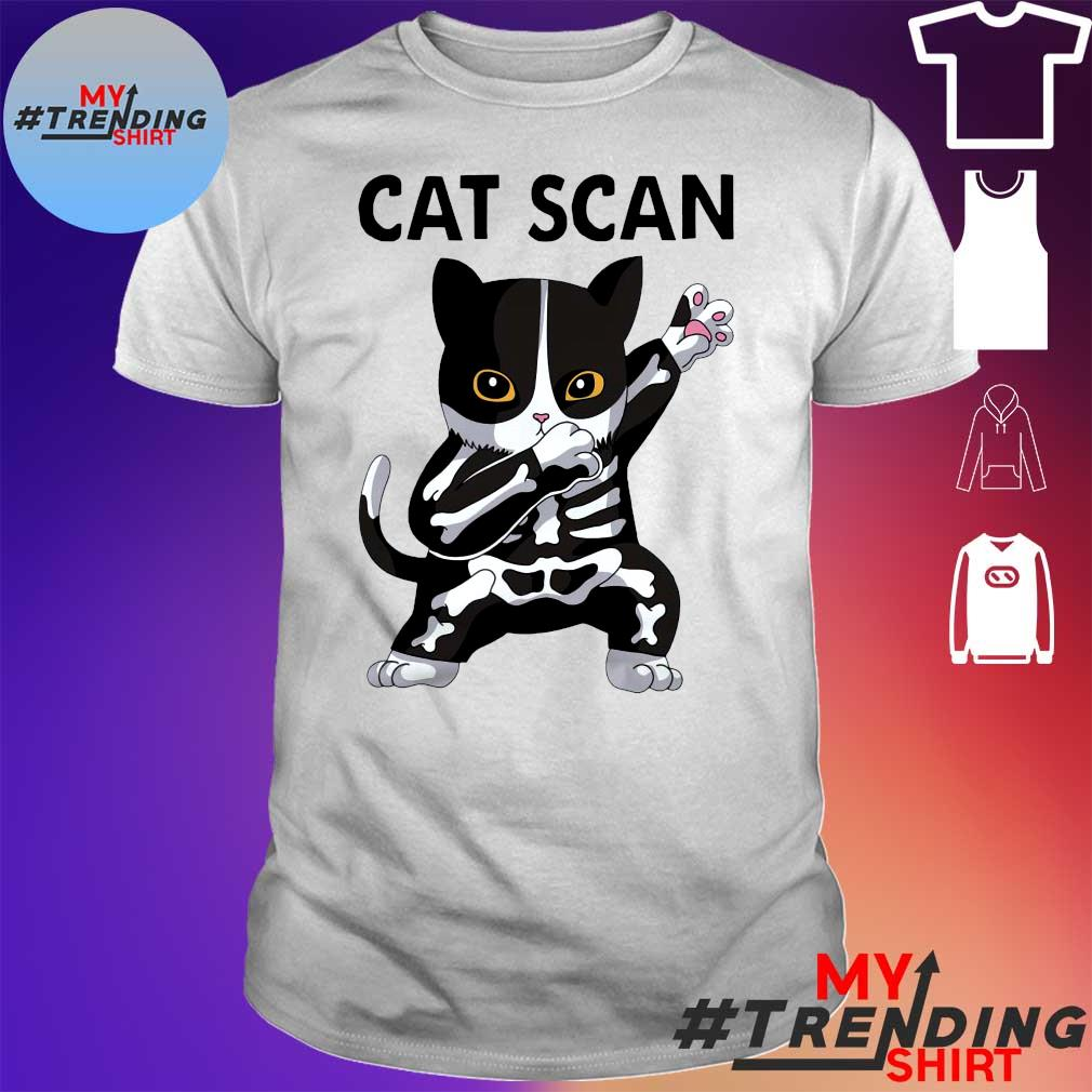 Cat scan skeleton shirt