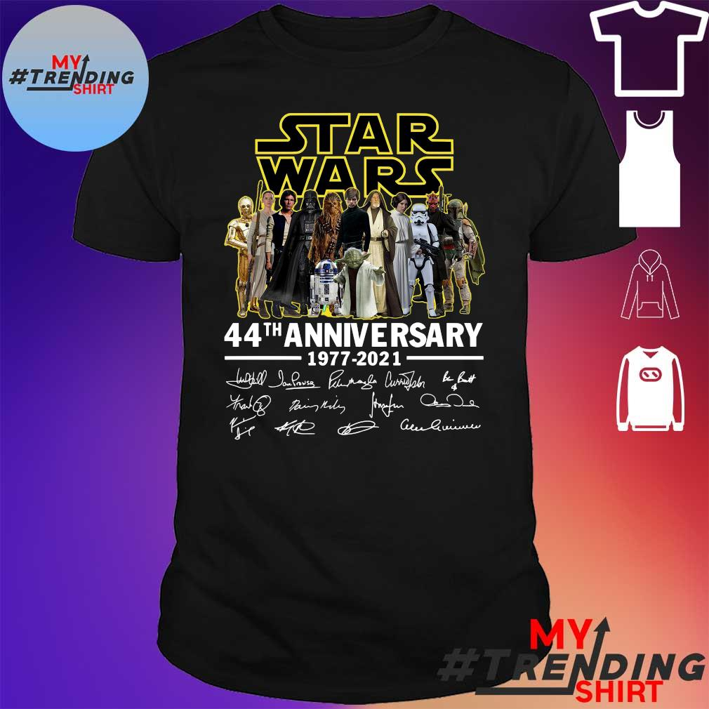 Star Wars 44th anniversary 1977 2021 shirt