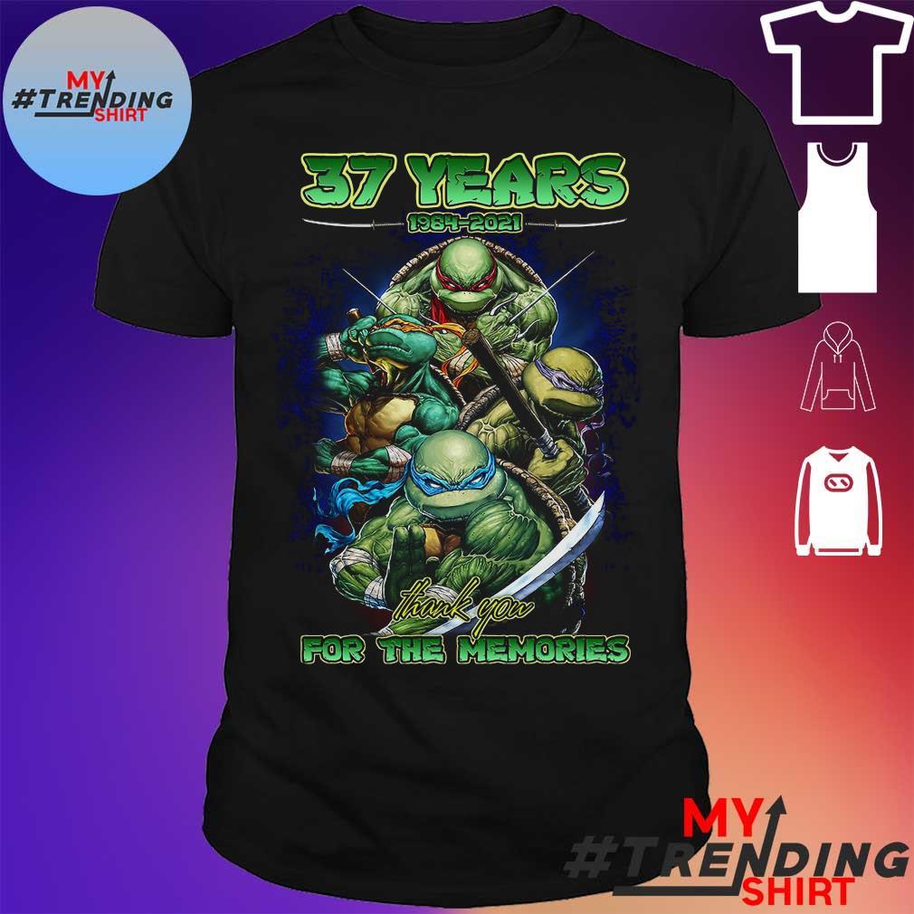 37 Years 1984 2021 Ninja Thank You For The Memories Shirt