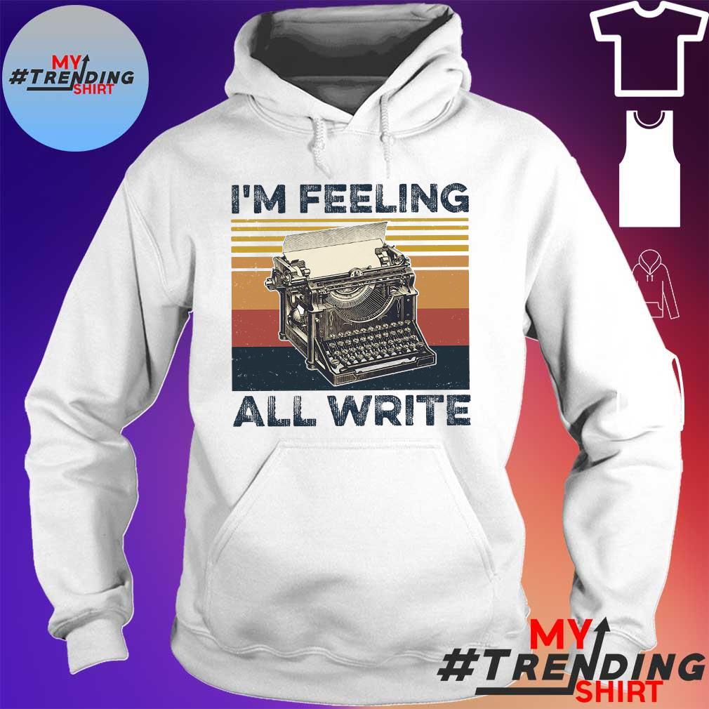 I'm feeling all write vintage hoodie