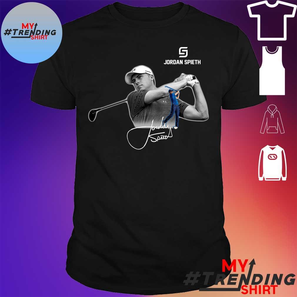 Jordan Spieth golfer shirt