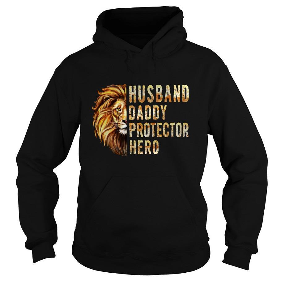 Lion Husband Daddy Protector hero s -hoodie
