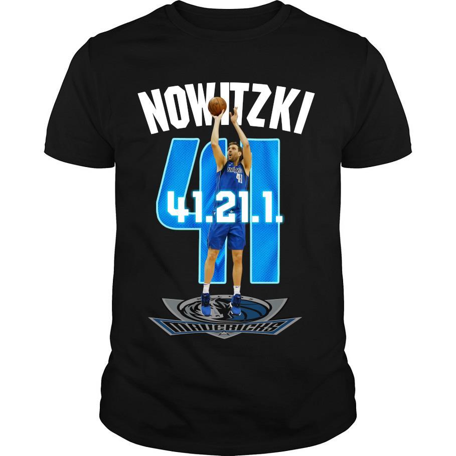 Mavericks Dirk Nowitzki 41 21 1 shirt