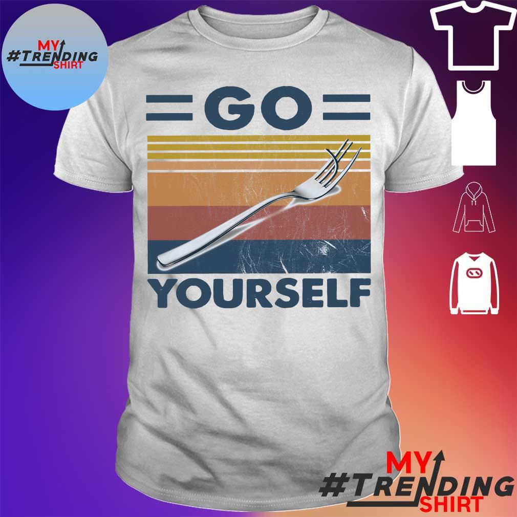 Fork Go Yourself vintage shirt