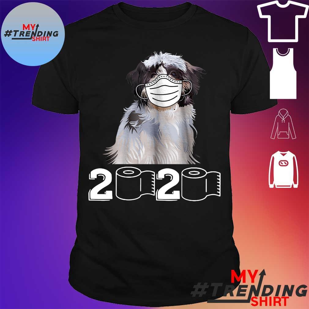 Springer Spaniel face mask 2020 shirt