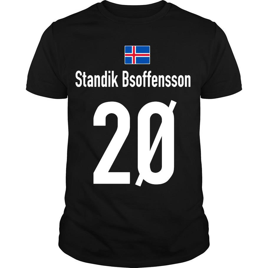 Standik Bsoffensson 20 shirt