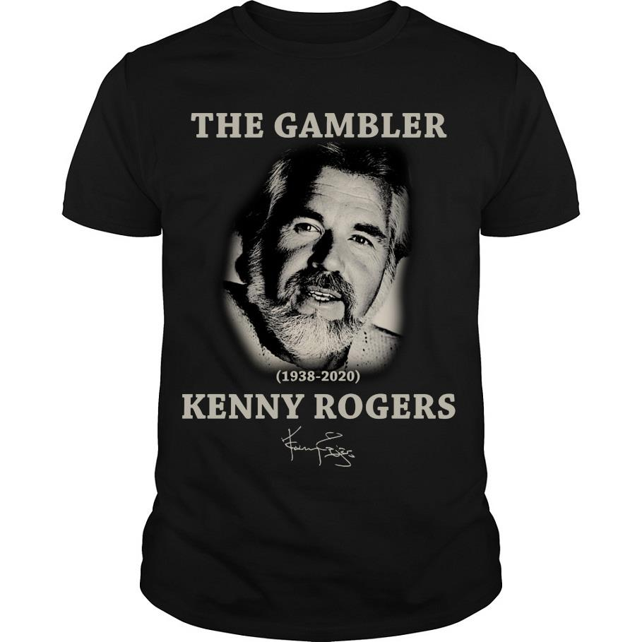 The Gambler Kenny Rogers signature shirt