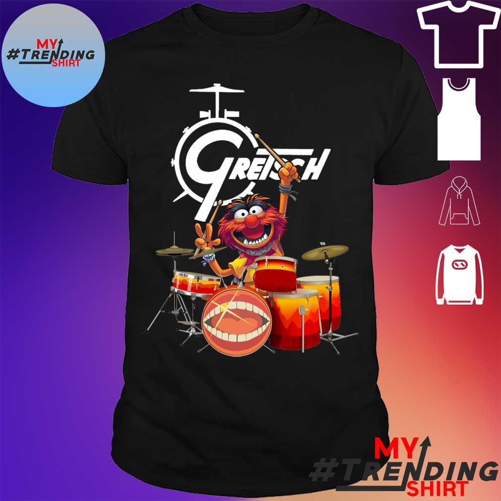 The Muppet drum Gretsch shirt