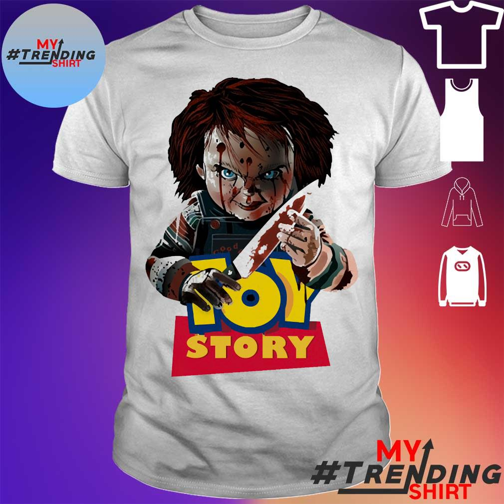 Child's Play Chucky Toy Story Halloween Horror Movie The Conjuring Unisex Shirt