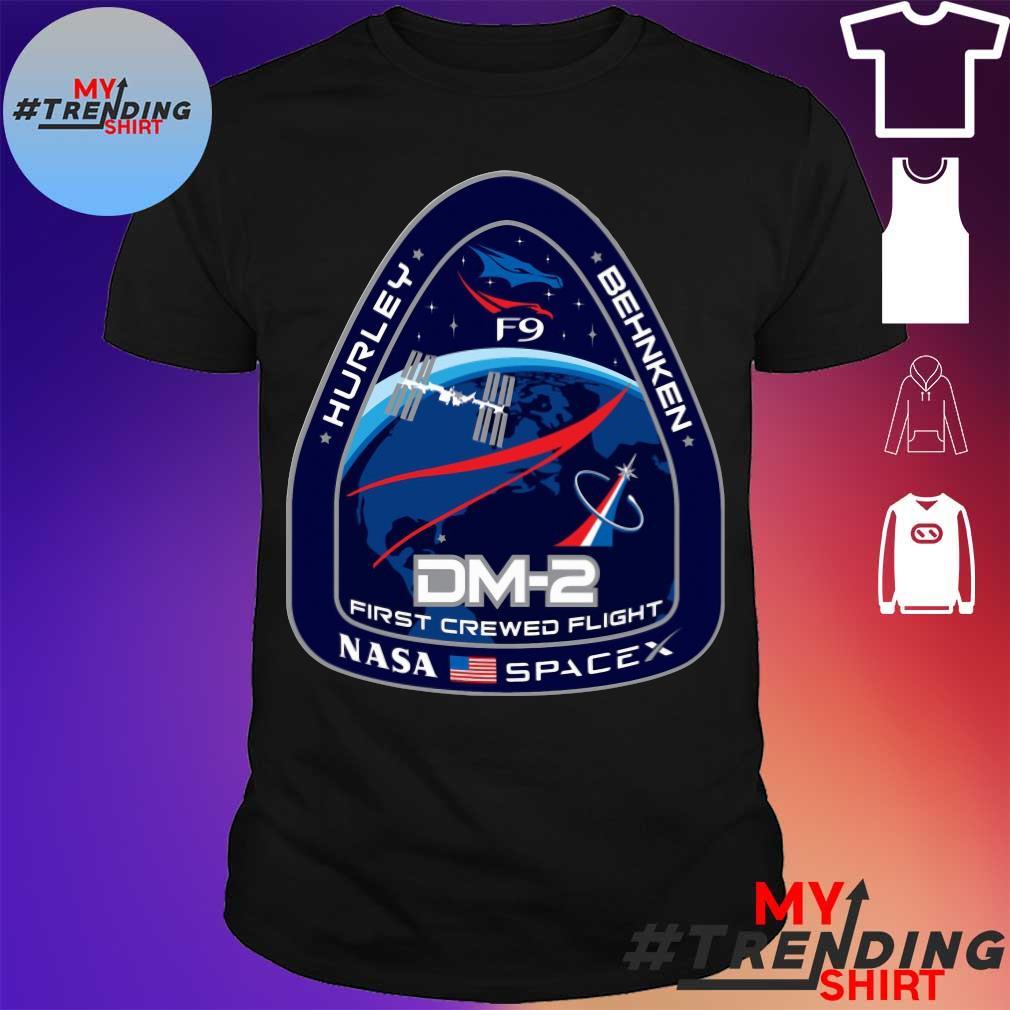 Hurley behnken DM2 First crewed flight Nasa Spacex shirt