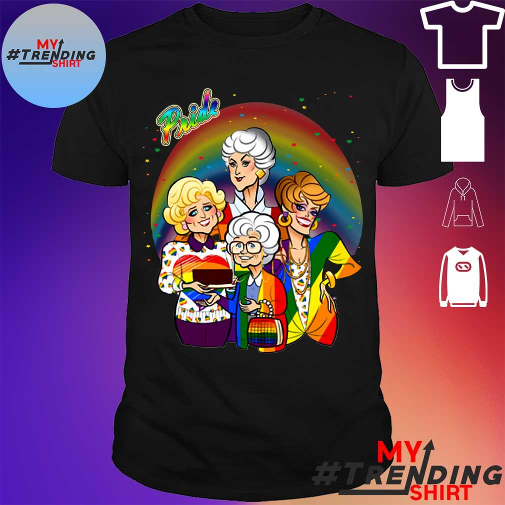 Pride the Golden Girls shirt