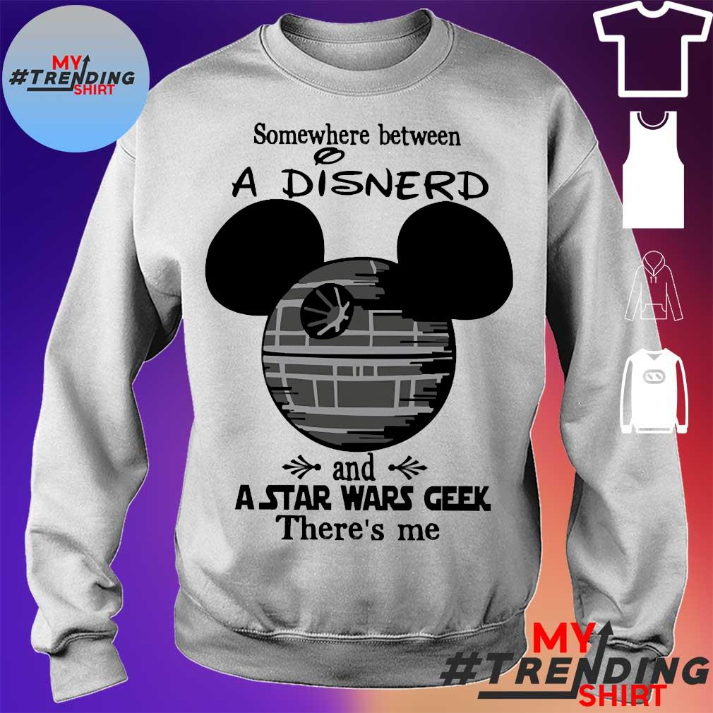 Somewhere between a Disnerd and a Star Wars geek there's me s sweater
