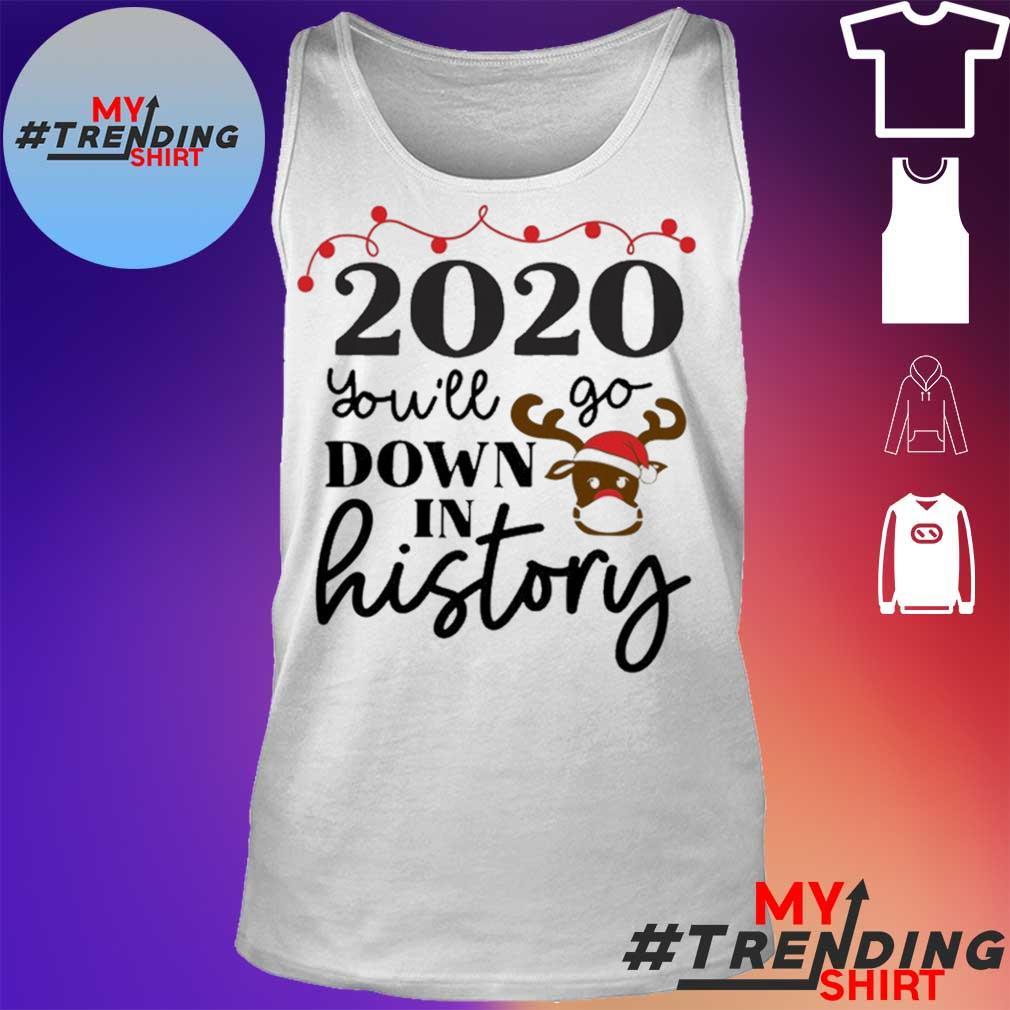 2020 christmas Shirt Christmas Quarantine Christmas 2020 Quarantine Christmas Shirt tank top