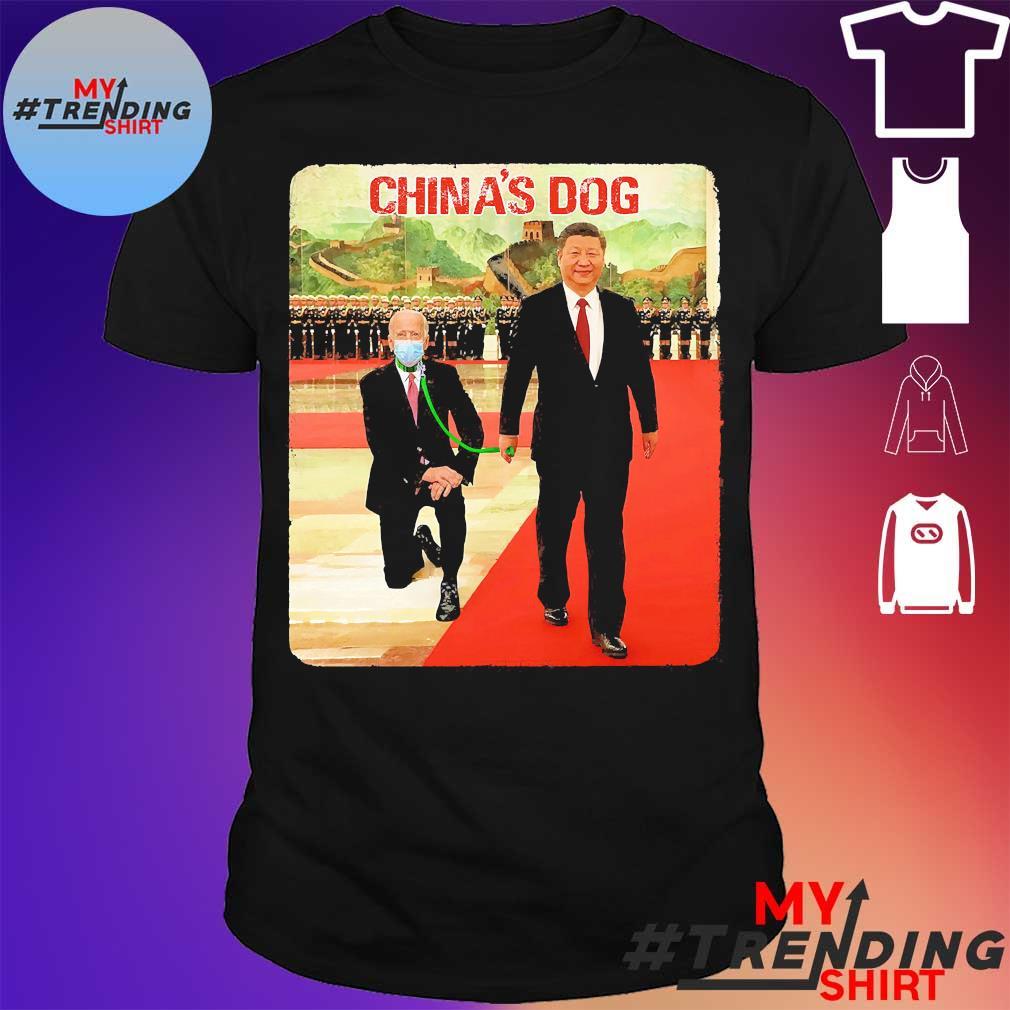 Joe Biden China's Dog shirt