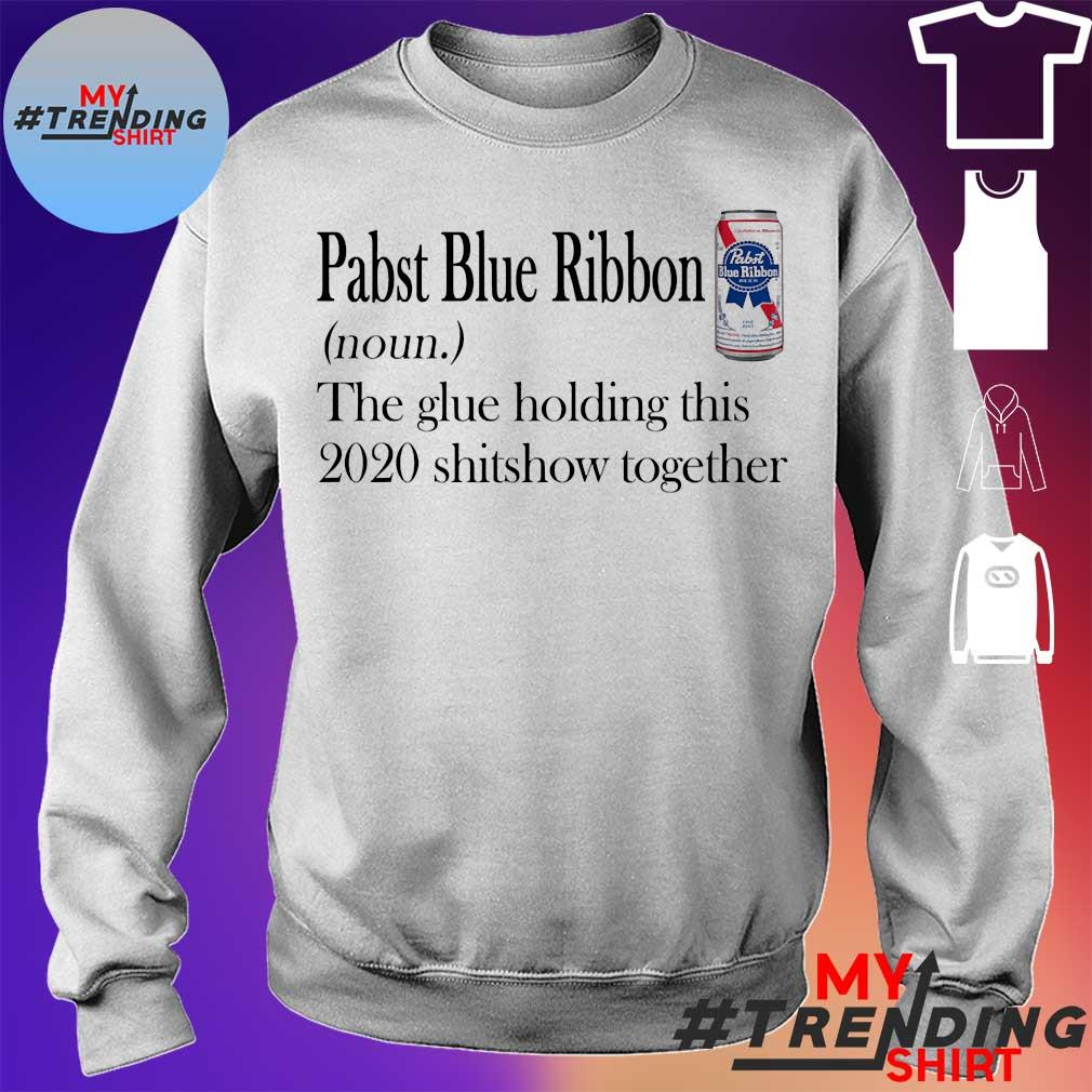 Pabst Blue Ribbon the glue holding this 2020 shitshow together s sweater