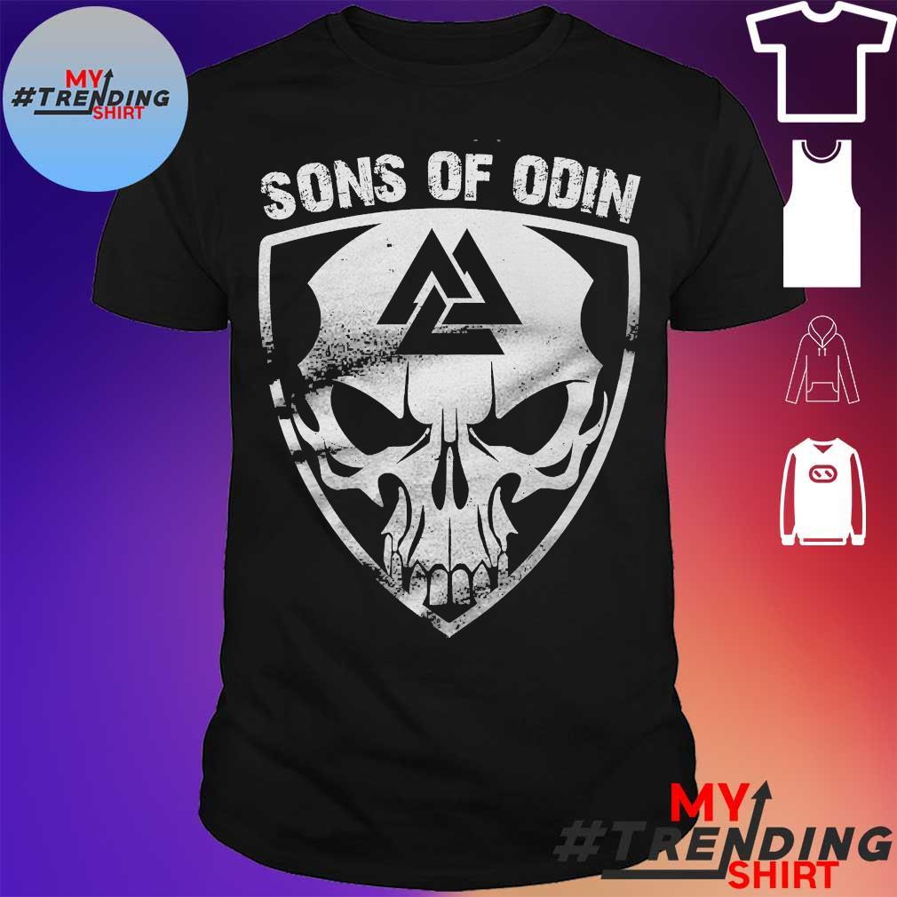 Skull Sons of Odin shirt