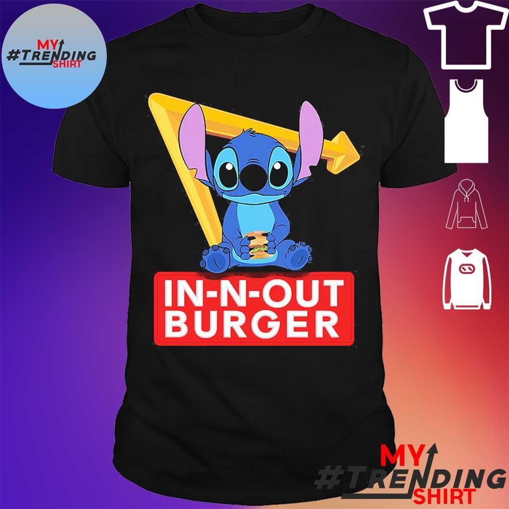 Stitch hug In-n Out Burger shirt