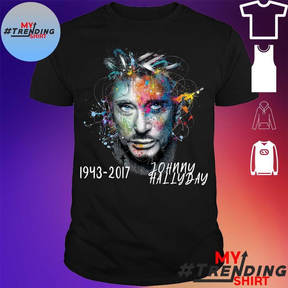 1943 2017 johnny hallyday shirt