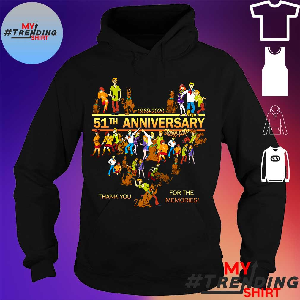 1969-2020 51th anniversary scooby doo thank you for the memories s hoodie