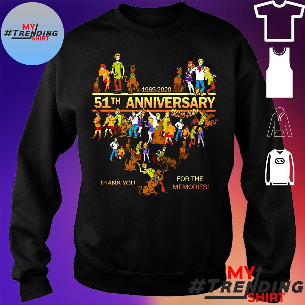 1969-2020 51th anniversary scooby doo thank you for the memories s sweater