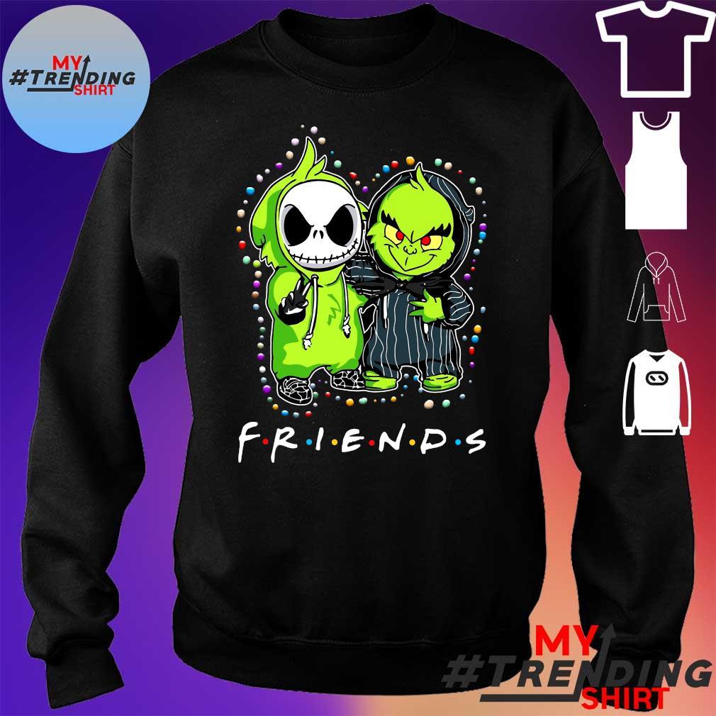 2020 king tee shop jack skellington it clown friends halloween s sweater
