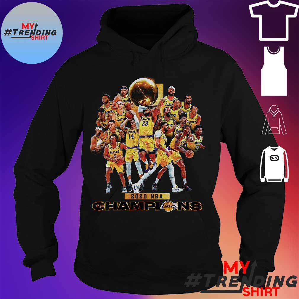 2020 nba champions s hoodie