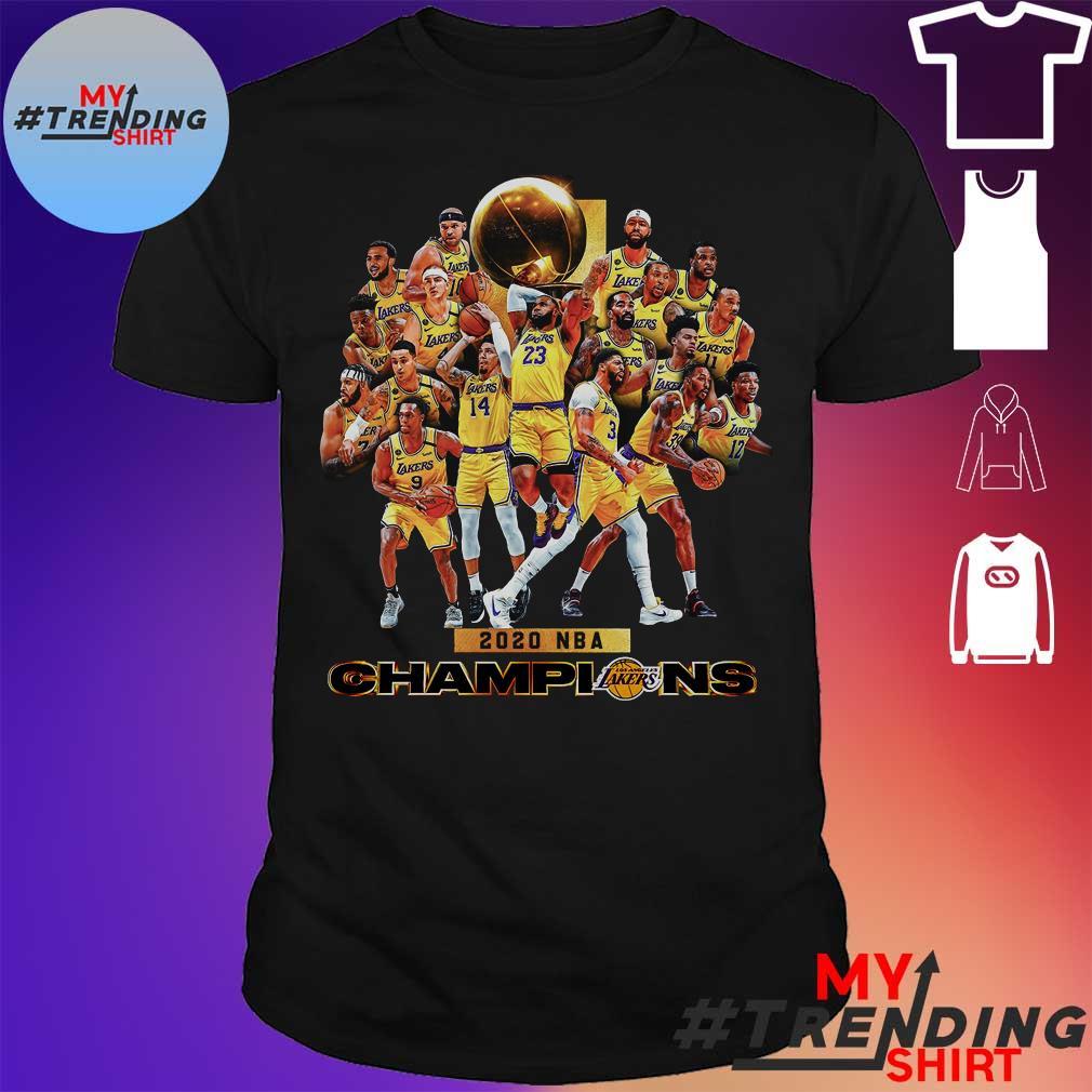 2020 nba champions shirt