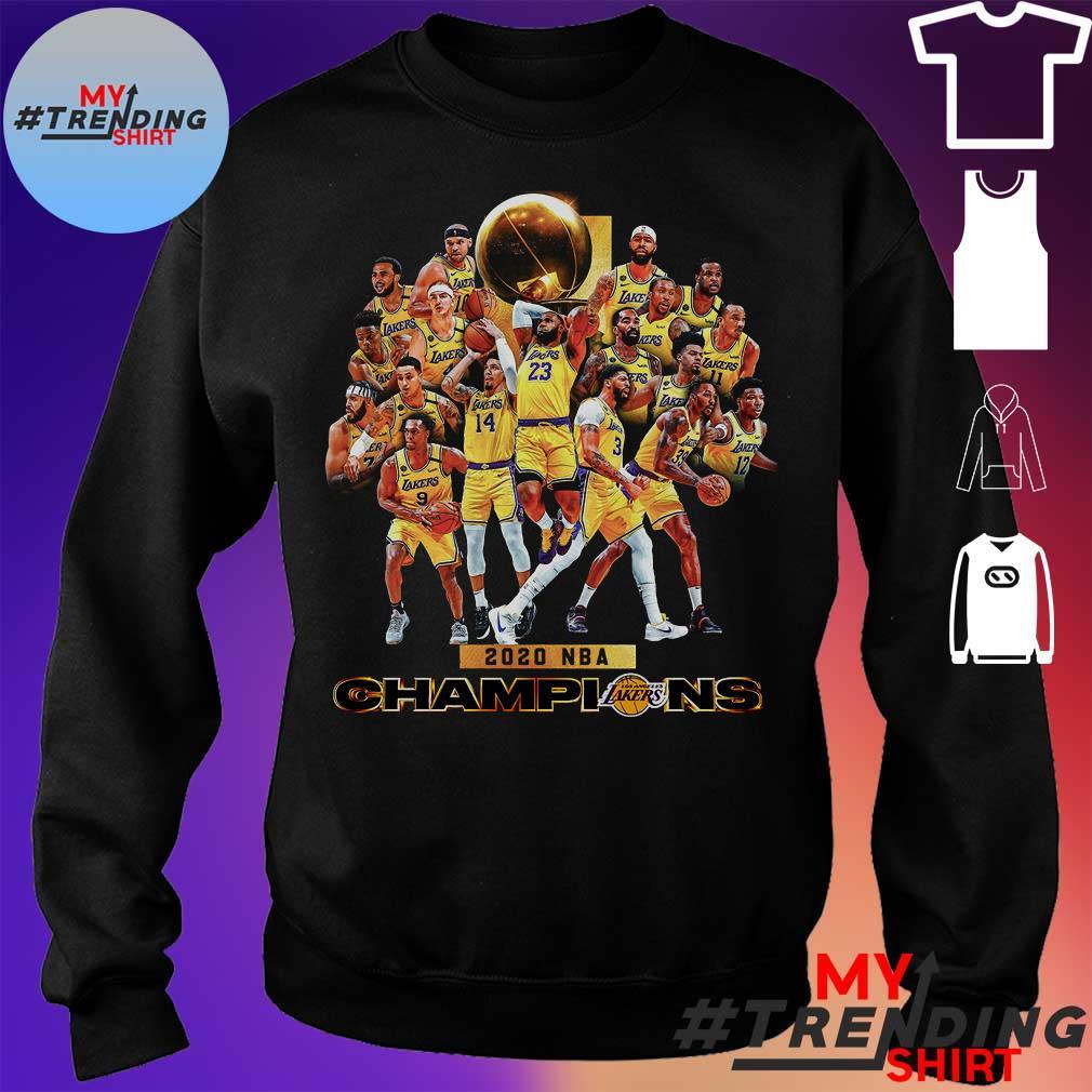 2020 nba champions s sweater