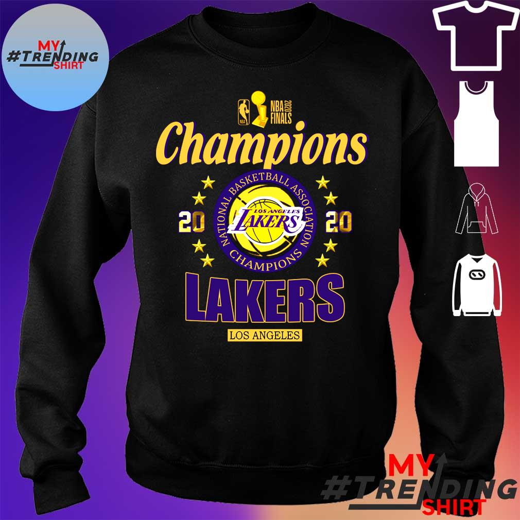 2020 Nba finals champions 2020 lakers los angeles s sweater