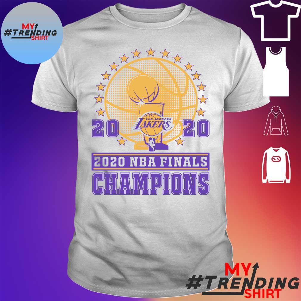 2020 NBA finals champions shirt
