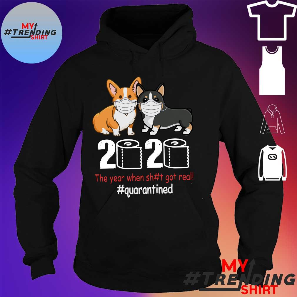 2020 the year when sh#t got #quarantined s hoodie