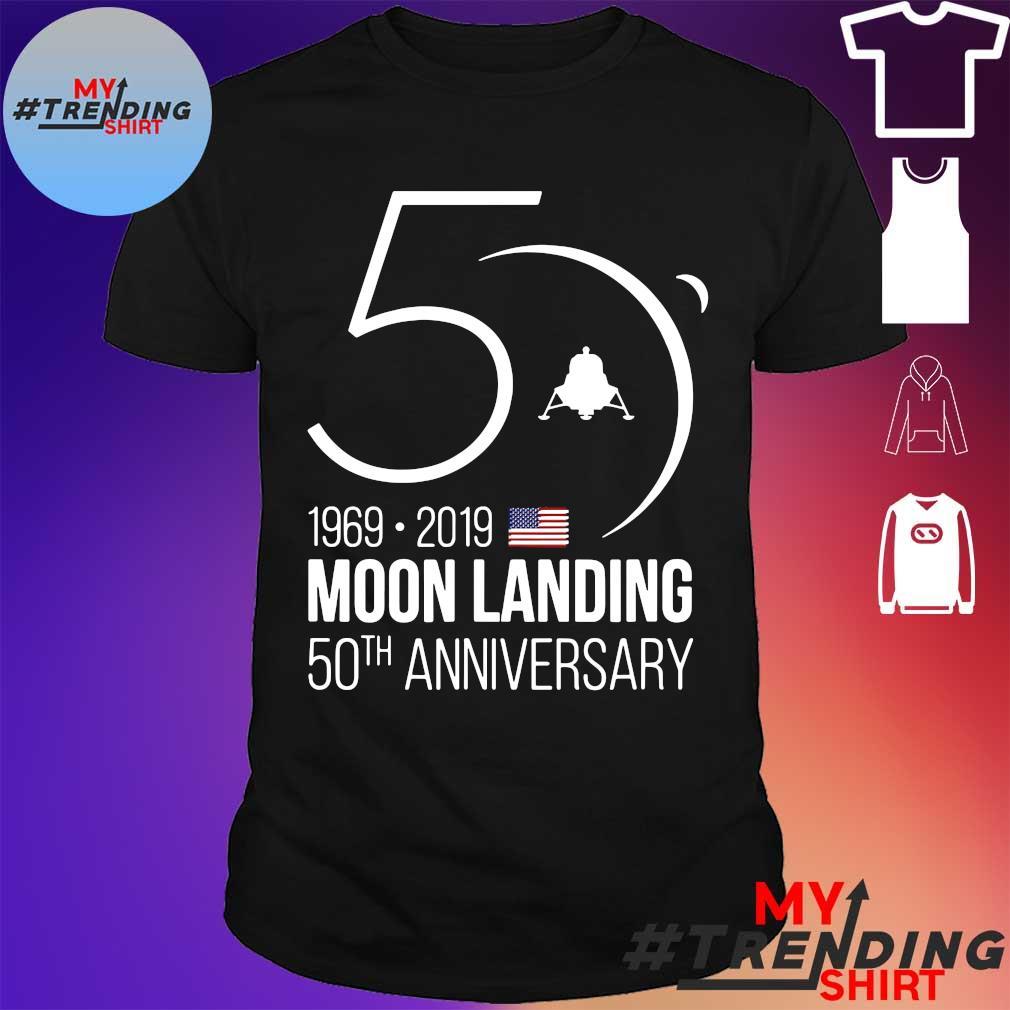 50th Anniversary Apollo 11 Moon Landing 1969 Tee Shirt