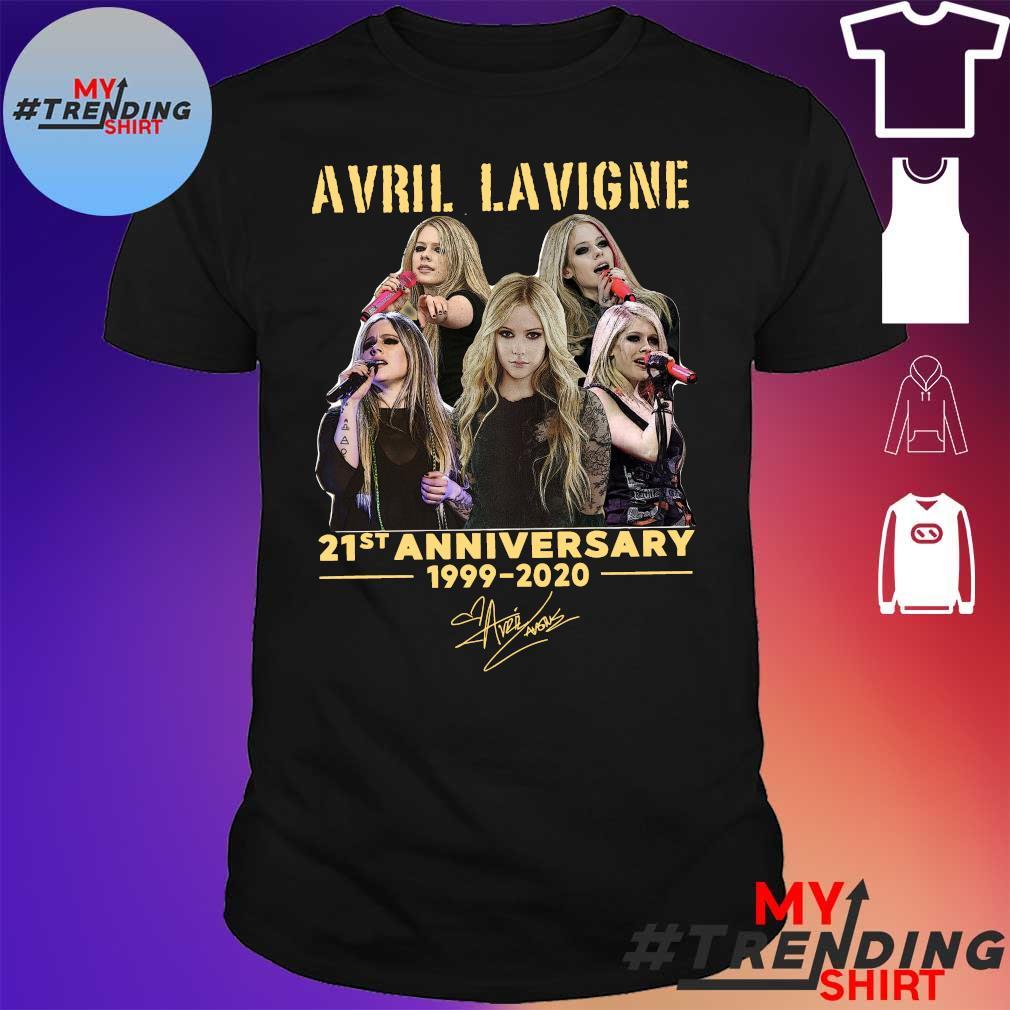 Avril Lavigne 21st anniversary 1999 2020 signatures shirt