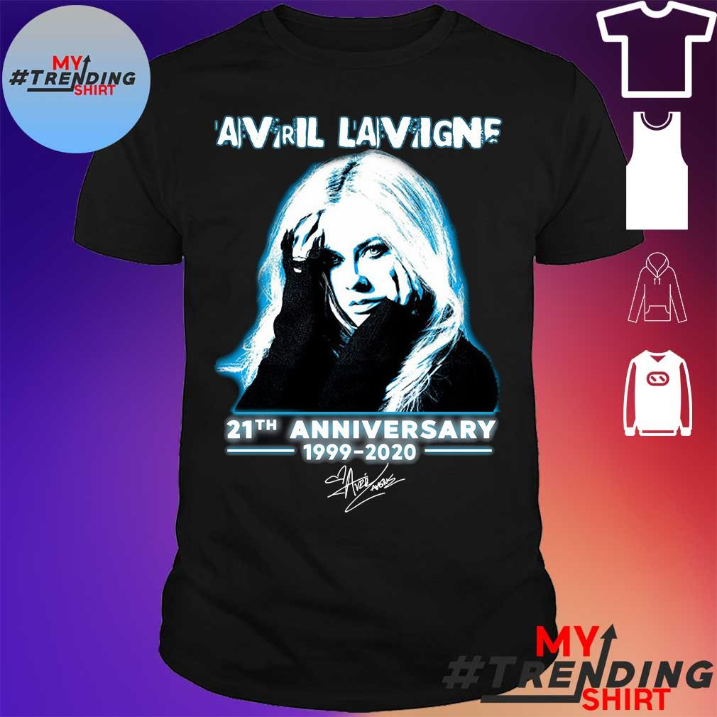 Avril lavigne 21th anniversary 1999-2020 shirt