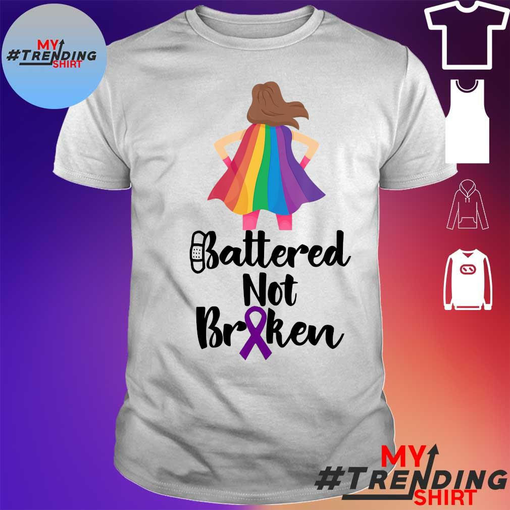 BATTERED NOT BR KEN SHIRT