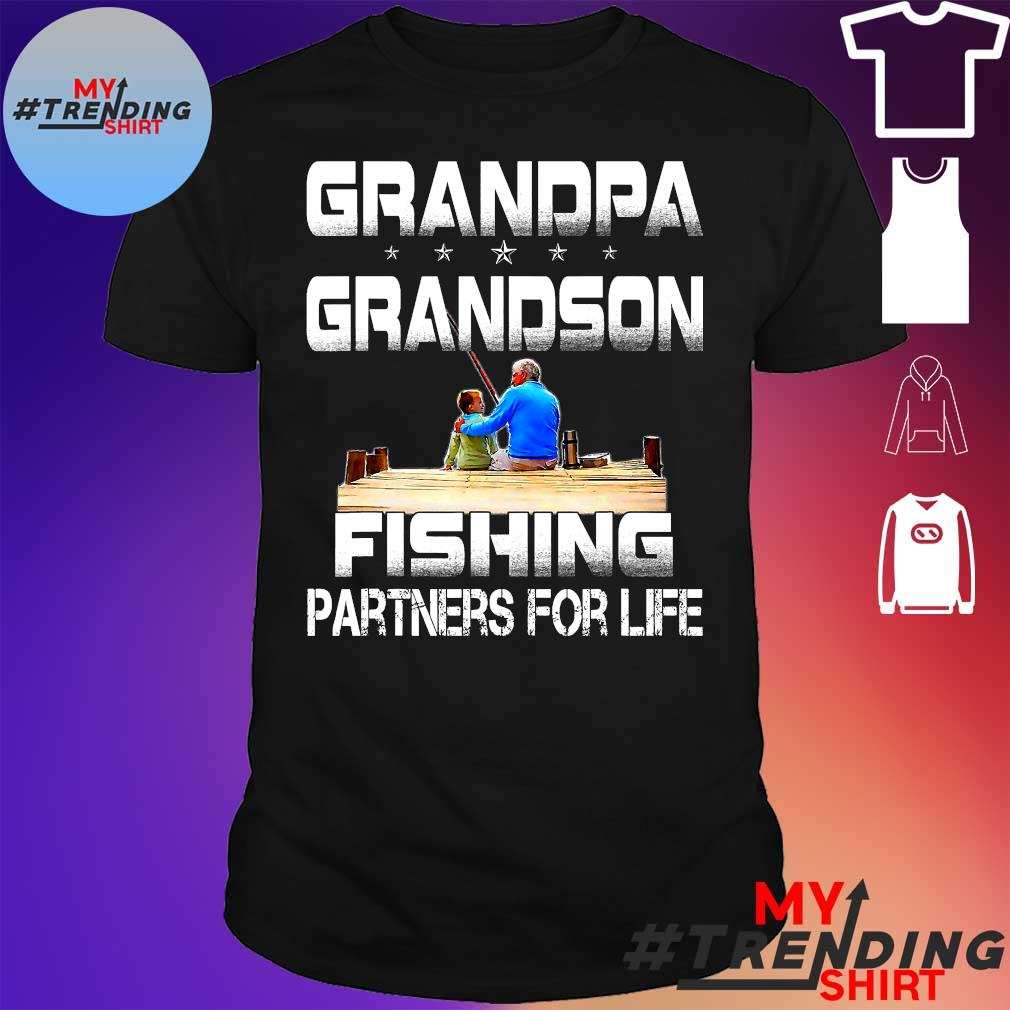 GRANDPA GRANDSON FISHING PARTNERS FOR LIFE SHIRT