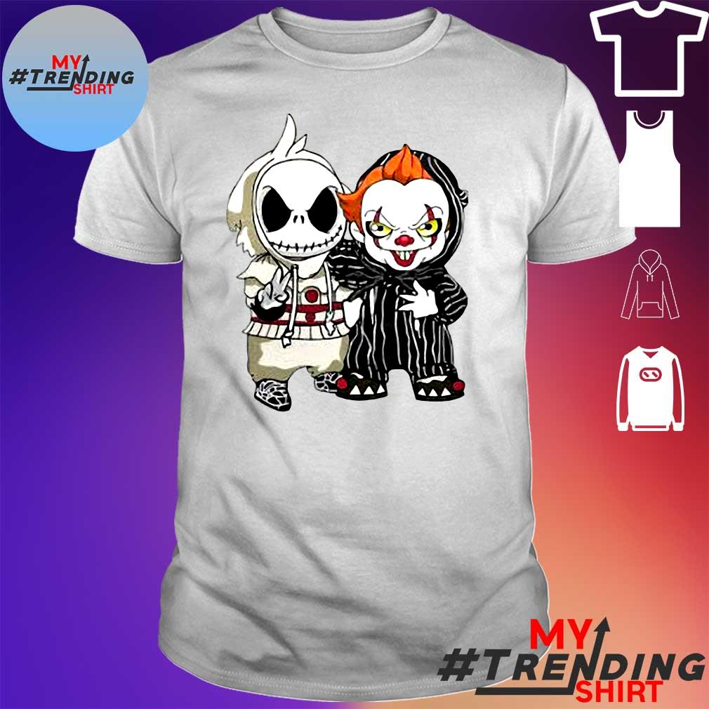 Joker and Pennywise shirt