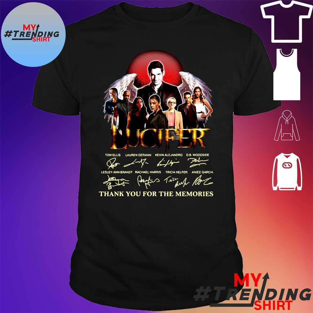 Lucifer thank you for the memories shirt