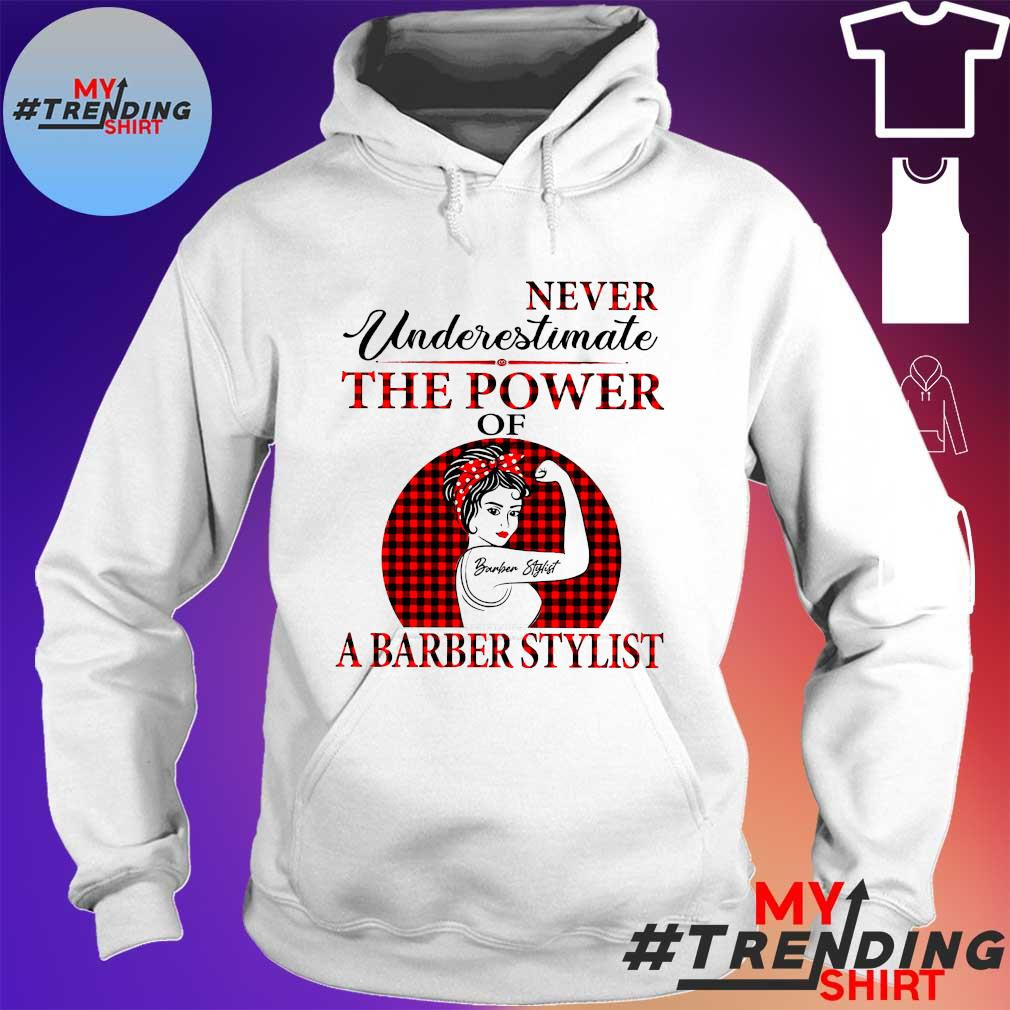 Never underestimate the power of a barber stylist s hoodie