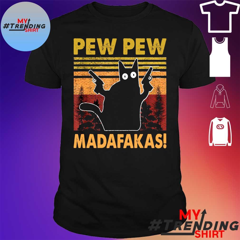 PEW PEW CAT MADAFAKAS SHIRT