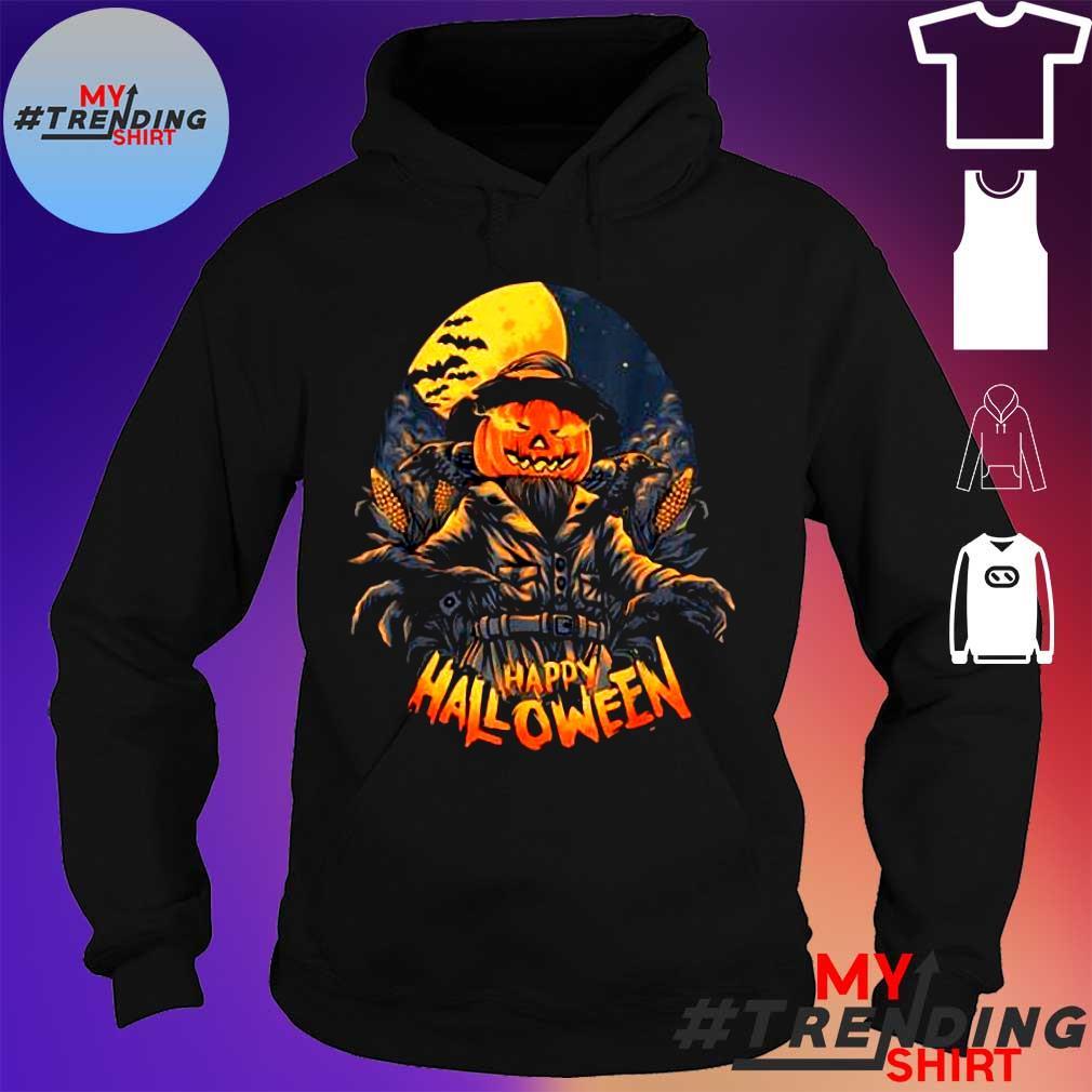 Premium Scarecrow In Halloween Pumpkin Happy Halloween Great Gift s hoodie