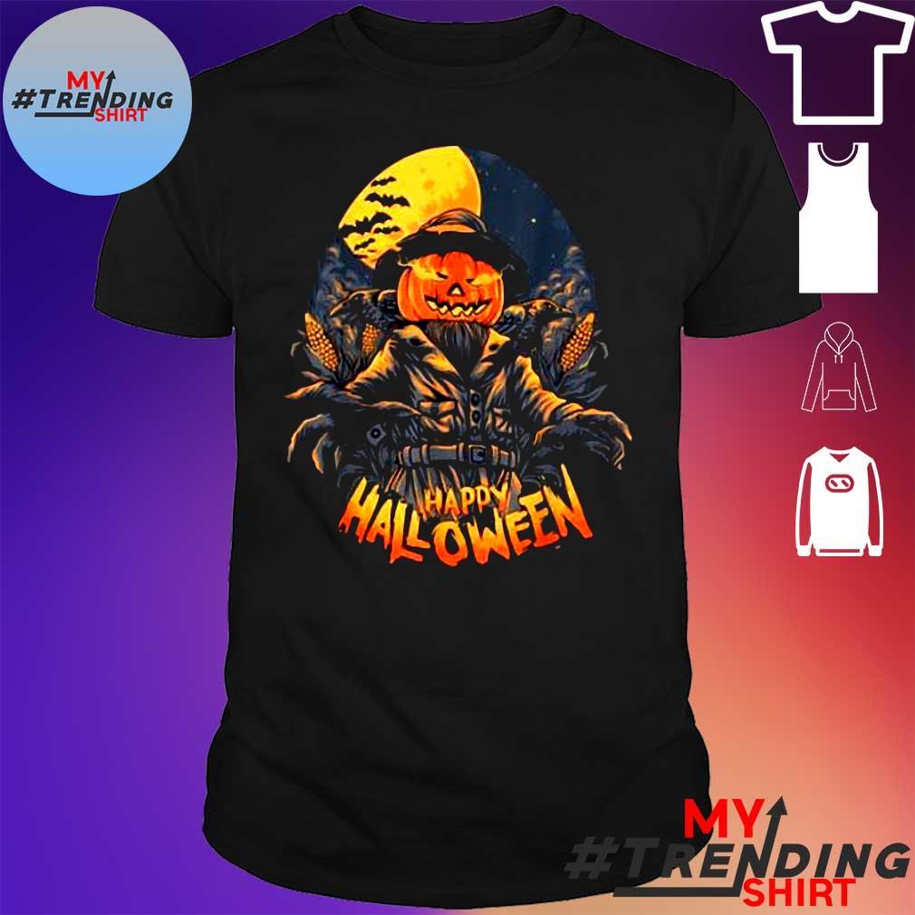 Premium Scarecrow In Halloween Pumpkin Happy Halloween Great Gift shirt