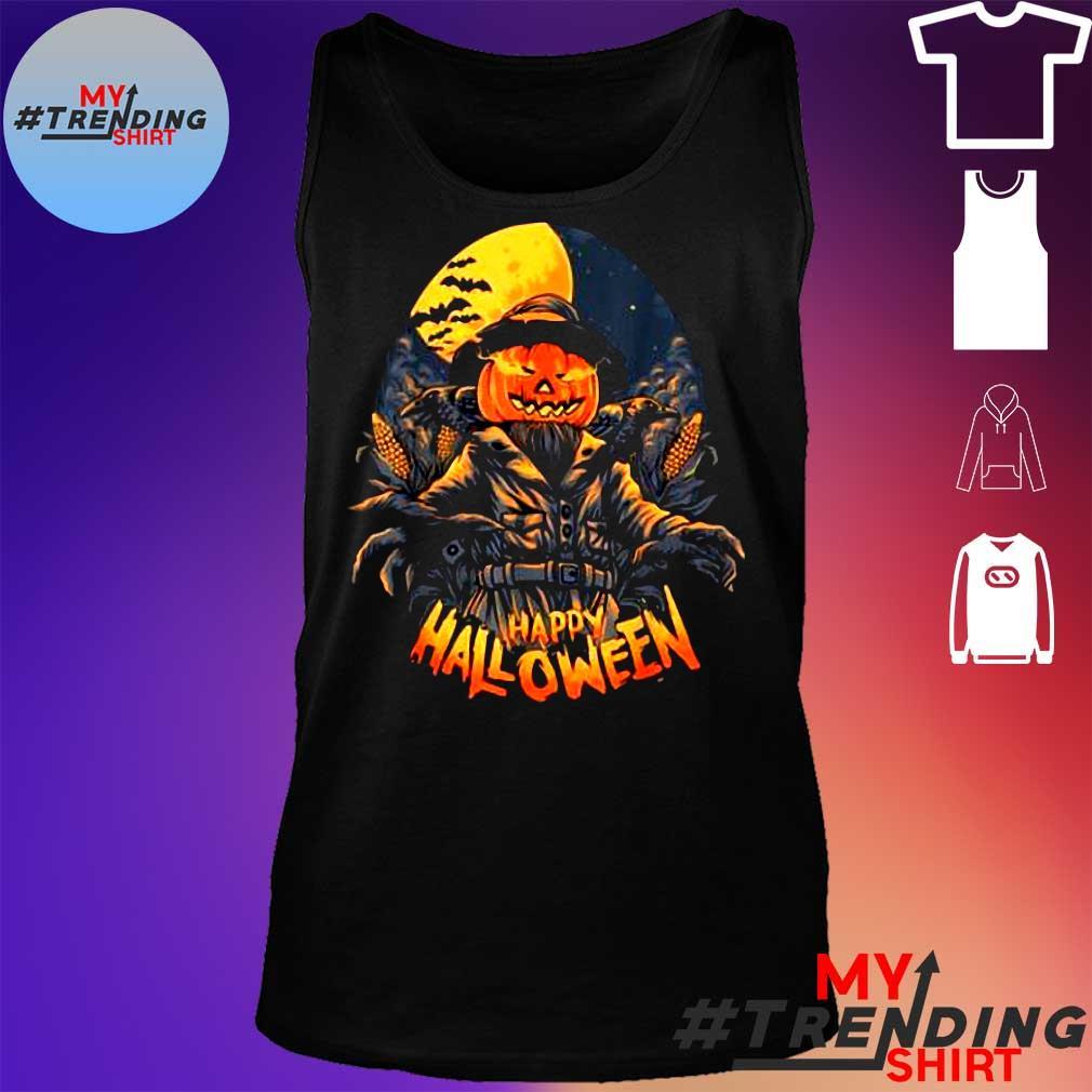 Premium Scarecrow In Halloween Pumpkin Happy Halloween Great Gift s tank top