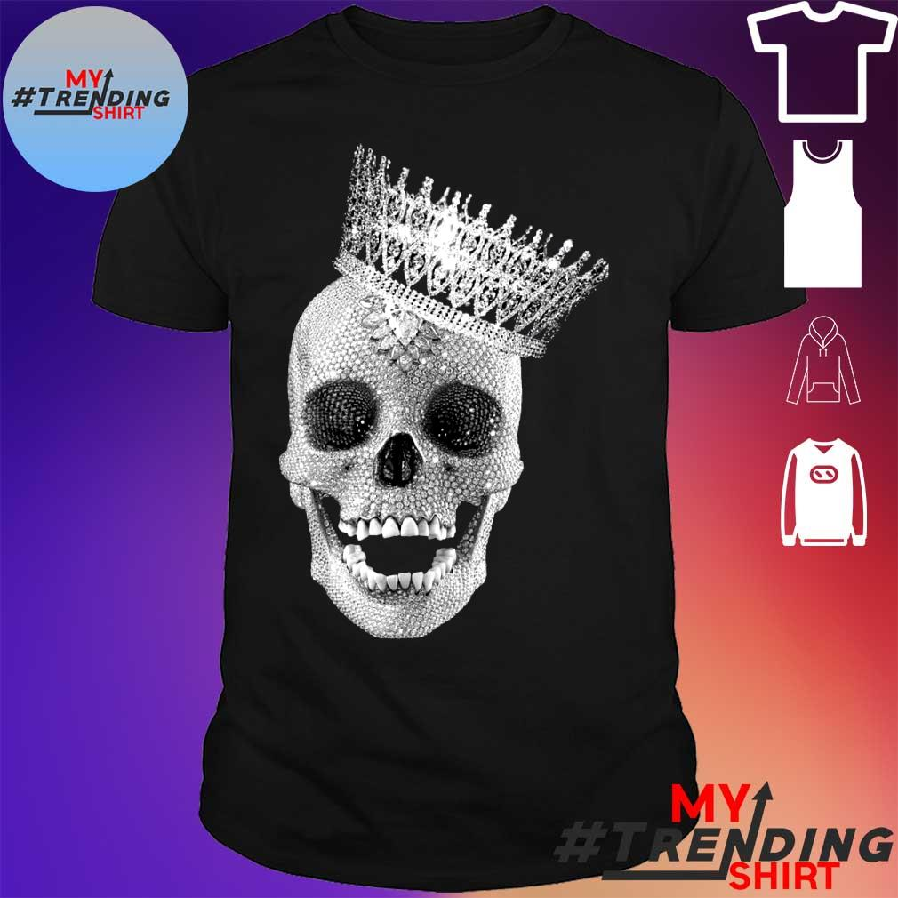 skull cap with crown shirt