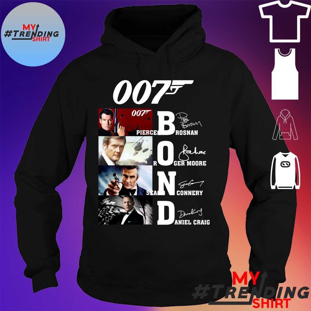 007 James Bond Signature Shirt hoodie