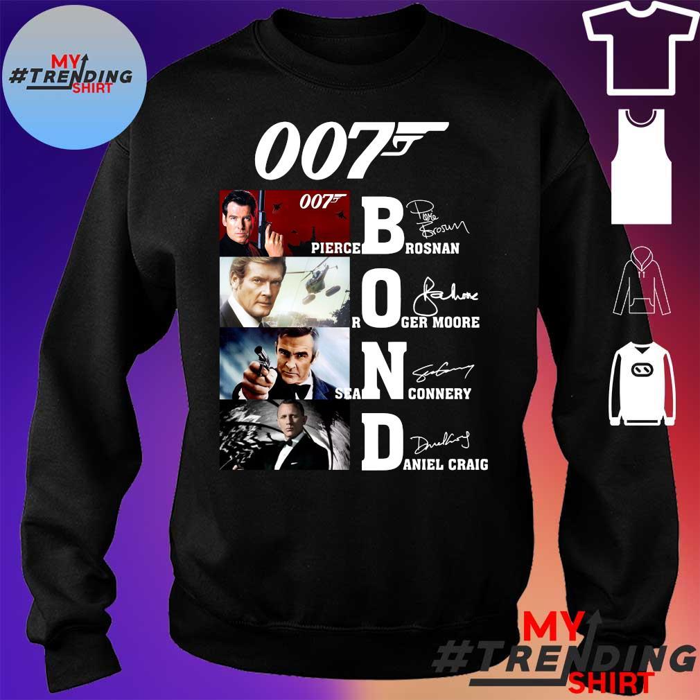 007 James Bond Signature Shirt sweater