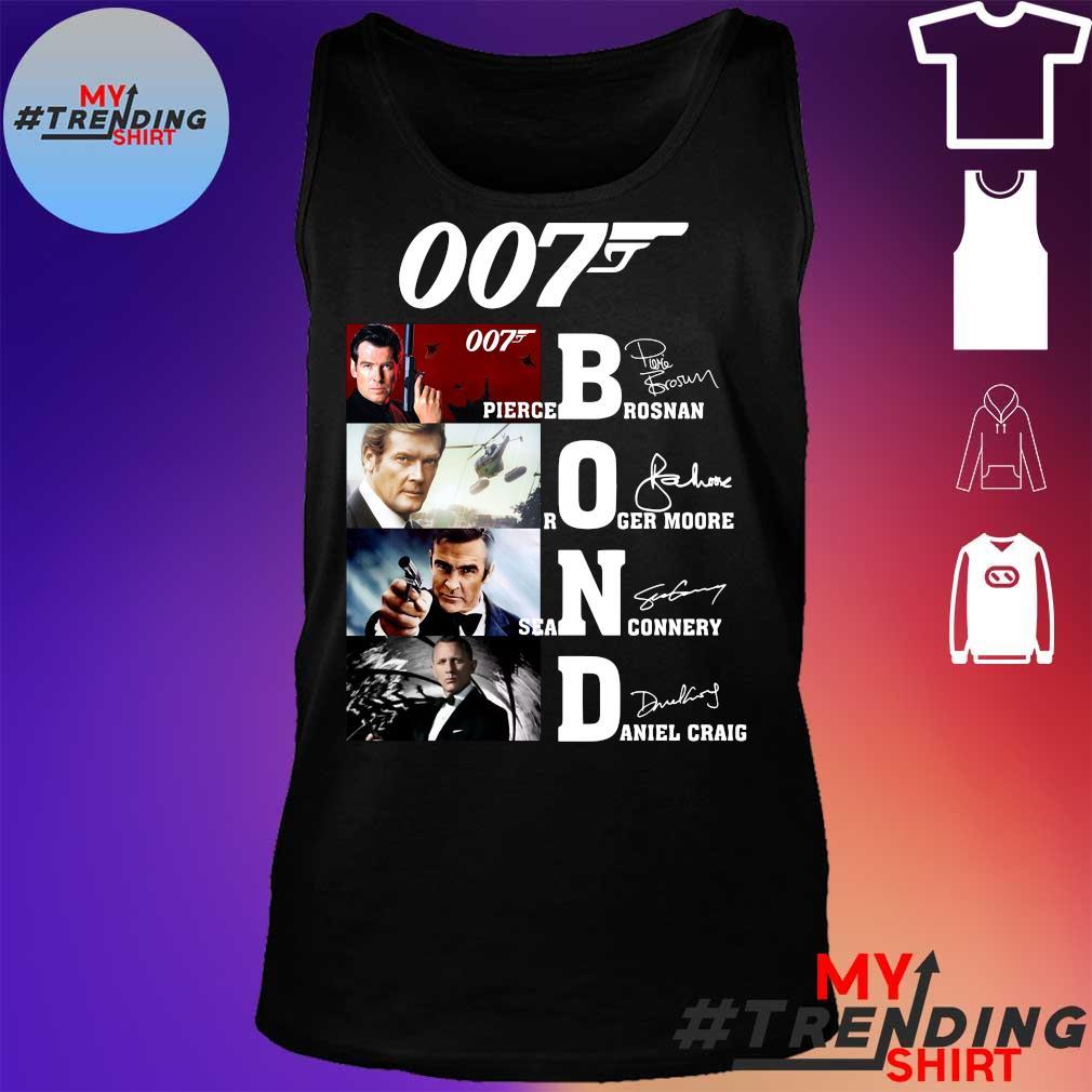 007 James Bond Signature Shirt tank top