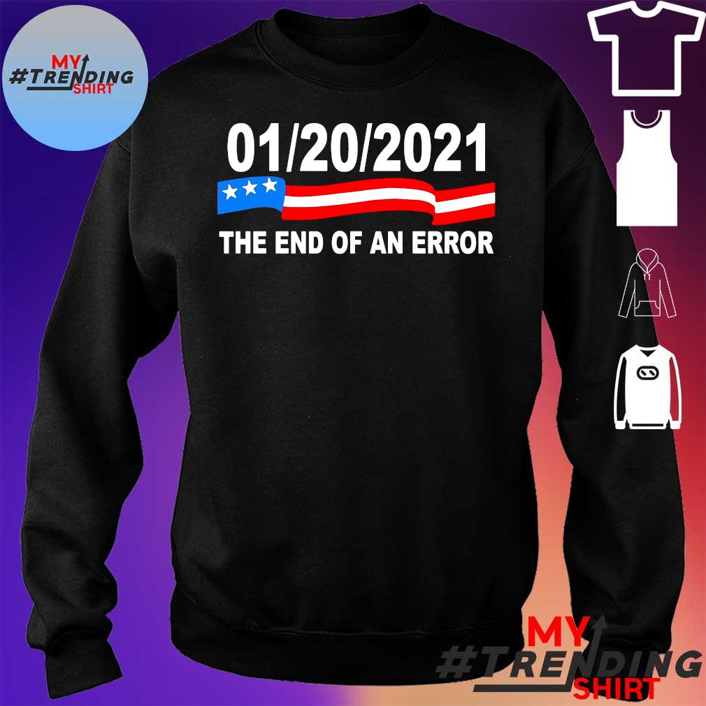 01 20 2021 the end of an error s sweater