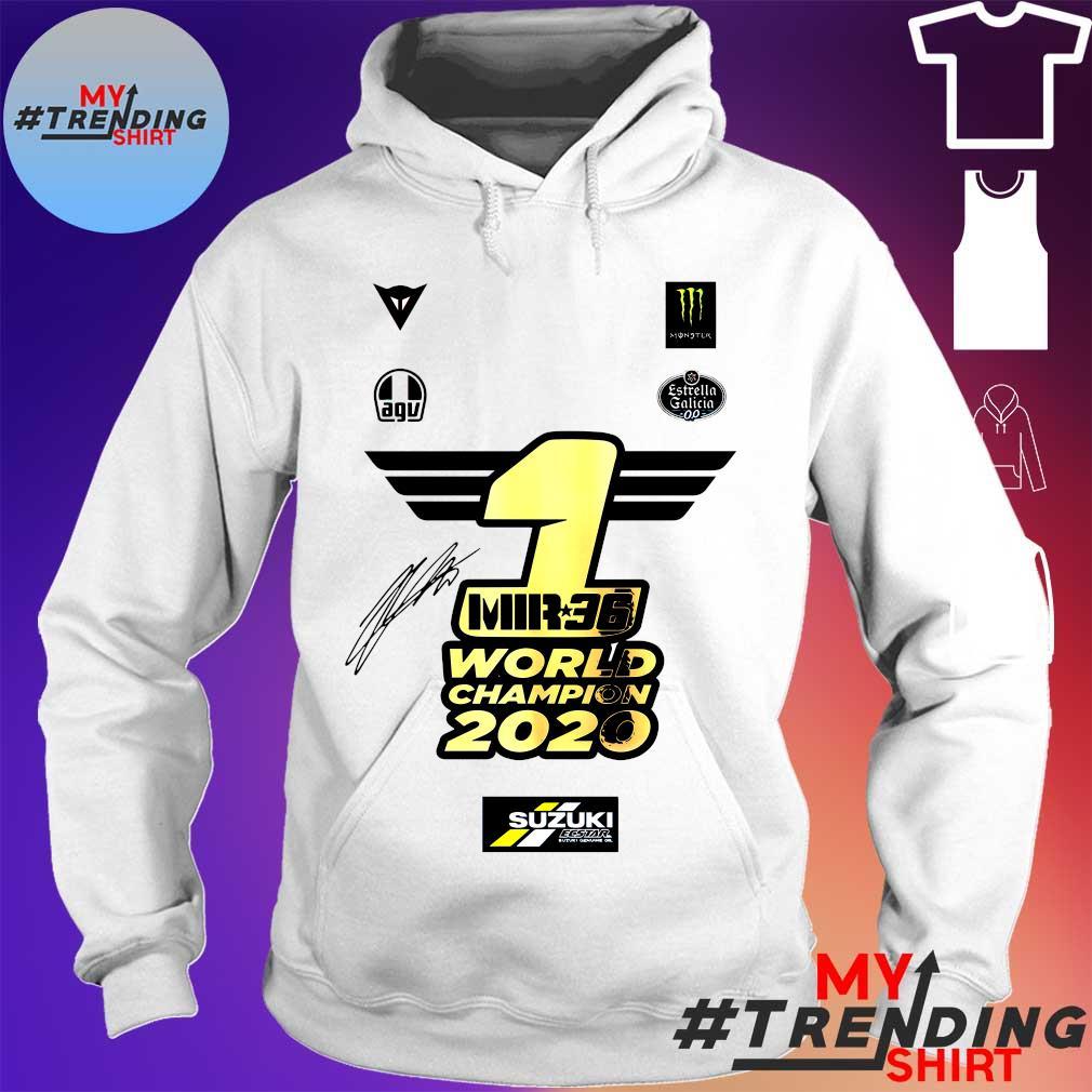1 Mir 36 World Champions 2020 Suzuki s hoodie