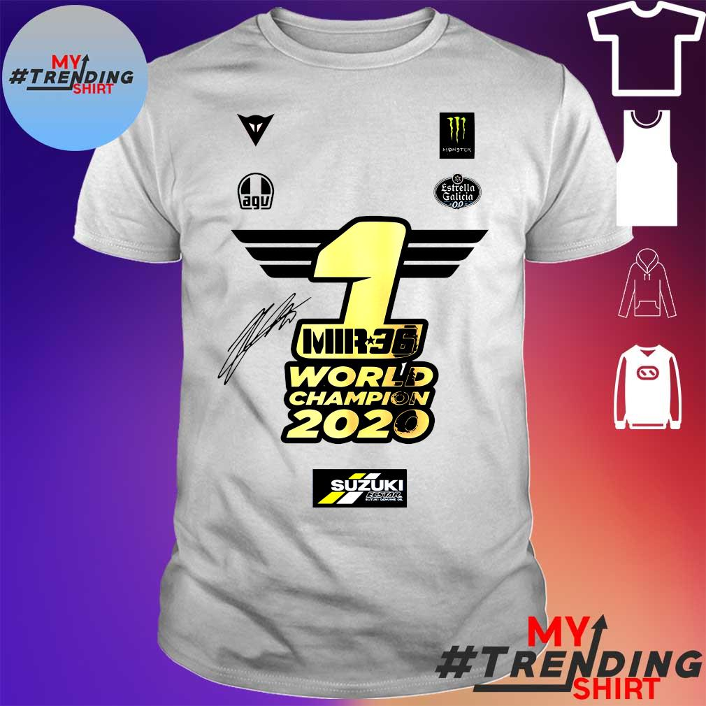 1 Mir 36 World Champions 2020 Suzuki shirt